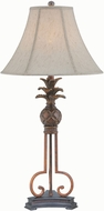 Lite Source LS-22407 Aloha Aged Bronze Fluorescent Lighting Table Lamp