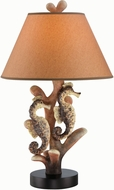 Lite Source LS-22416 Seahorse Nautical Fluorescent Lighting Table Lamp
