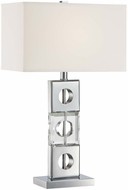 Lite Source LS-22440 Brentley Contemporary Chrome Finish 27  Tall Table Light