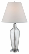 Lite Source LS-22443 Emilie Contemporary Chrome Finish 16  Wide Table Light