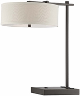 Lite Source LS-22455 Primareva Dark Bronze Finish 23  Tall Table Top Lamp