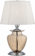 Lite Source LS-22468L-AMB Tyson Chrome Fluorescent Lighting Table Lamp