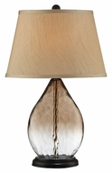 Lite Source LS-22510 Brie Modern Black Finish 24  Tall Table Lamp