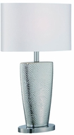 Lite Source LS-22515C Elette Modern Chrome Fluorescent Table Lamp Lighting