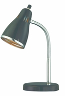 Lite Source LS-22535BLK Kris Modern Chrome Fluorescent Reading Lamp