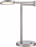 Lite Source LS-22540 Orlando Contemporary Polished Steel LED Desk Lamp