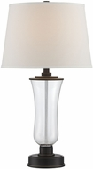 Lite Source LS-22547 Prisco Dark Bronze Finish 28.5  Tall Table Lamp