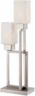Lite Source LS-22572 Risa Contemporary Polished Steel Finish 25  Tall Table Lighting