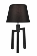 Lite Source LS-22593 Necalli Contemporary Black Fluorescent Lighting Table Lamp