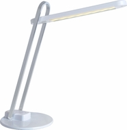 Lite Source LS-22695WHT Java Contemporary White LED Task Lamp