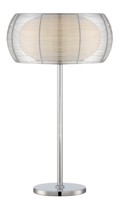 Lite source ls 22767 lanelle contemporary chrome fluorescent side lite source ls 22767 lanelle contemporary chrome fluorescent side table lamp loading zoom aloadofball Choice Image