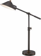 Lite Source LS-22783 Najinca Modern Dark Bronze Reading Light
