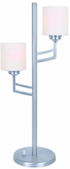 Lite Source LS-22785PS Winston Modern Polished Steel Fluorescent Side Table Lamp