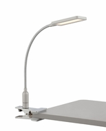 Lite Source LS-22804 Gordy Contemporary Chrome LED Clip-on Task Lighting