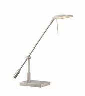 Lite Source LS-22806 Penka Contemporary Polished Steel LED Desktop Lamp