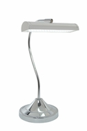 Lite Source LS-22820C Cady Contemporary Chrome LED Desk Lamp