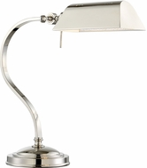 Lite Source LS-22830 Georgino Polished Steel Fluorescent Desk Lamp