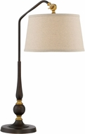 Lite Source LS-22834 Heinz Burnished Bronze Side Table Lamp