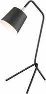 Lite Source LS-23032BLK Quana Contemporary Black Table Light