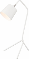 Lite Source LS-23032WHT Quana Contemporary White Lighting Table Lamp