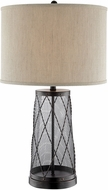 Lite Source LS-23086D-BRZ Muller Modern Dark Bronze Table Top Lamp