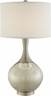 Lite Source LS-23170 Vanessa Contemporary Brushed Nickel Table Lamp