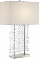 Lite Source LS-23172 Tribeca Modern Chrome Table Light