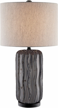 Lite Source LS-23181 Cacto Modern Gray Lighting Table Lamp