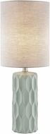 Lite Source LS-23190GREY Halsey Light Grey Table Lighting