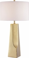 Lite Source LS-23199GOLD Tyrell Light Gold Side Table Lamp