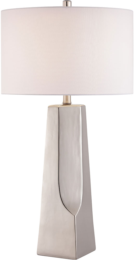 Lite Source LS 23199SILV Tyrell Silver Table Lamp. Loading Zoom