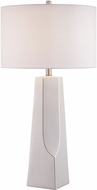 Lite Source LS-23199WHT Tyrell White Table Light