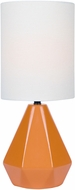 Lite Source LS-23204ORN Mason Modern Orange Table Top Lamp