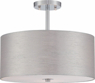 Lite Source LS-5570C-SIL Silvain Modern Chrome Ceiling Light