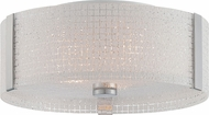 Lite Source LS-5912 Maso Modern Chrome Finish 13.5  Wide Ceiling Lighting
