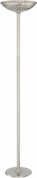 Lite Source LS-82902PS Glison Polished Steel LED Torchiere Floor Light
