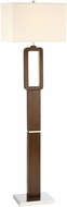 Lite Source LS-83022 Leonard Modern Walnut LED Floor Lamp