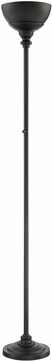 Lite Source LS-83023BLK Dallon Black LED Torchiere Light Floor Lamp