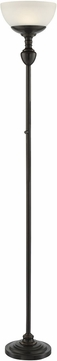 Lite Source LS-83026D-BRZ Stafford Dark Bronze LED Torchiere Floor Light