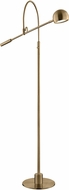 Lite Source LS-83140AB Randall Contemporary Antique Brass LED Lighting Floor Lamp