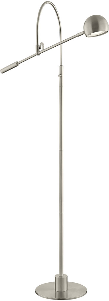 Lite source ls 83140bn randall modern brushed nickel led floor lamp lite source ls 83140bn randall modern brushed nickel led floor lamp loading zoom aloadofball Image collections
