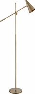 Lite Source LS-83217AB Tilman Modern Antique Brass LED Floor Lamp