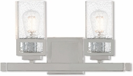 Livex 10152-05 Harding Modern Polished Chrome 2-Light Bathroom Lighting