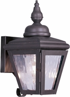 Livex 2030-07 Cambridge Bronze Outdoor Wall Sconce Lighting