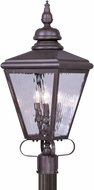 Livex 2034-07 Cambridge Bronze Outdoor Lamp Post Light
