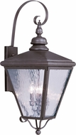 Livex 2036-07 Cambridge Bronze Outdoor Wall Lighting Fixture