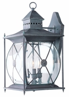 Livex 2093-61 Providence Traditional Charcoal Outdoor Sconce Lighting