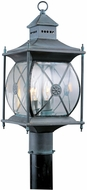 Livex 2094-61 Providence Traditional Charcoal Outdoor Post Light Fixture