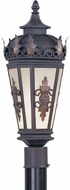 Livex 2194-07 Berkshire Traditional Bronze Outdoor Post Light Fixture