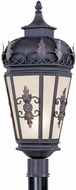 Livex 2198-07 Berkshire Traditional Bronze Outdoor Post Lighting